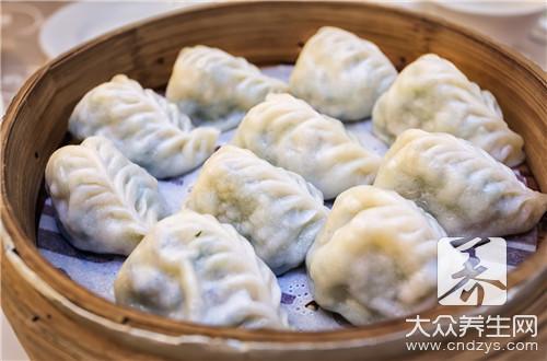 菠菜汁饺子