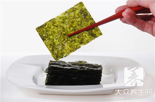 海苔可以减肥吗