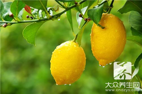 柠檬的作用与用途