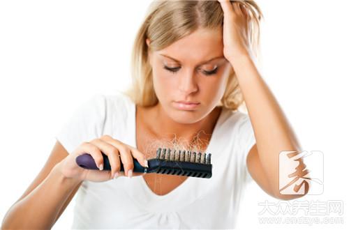 节食减肥脱发