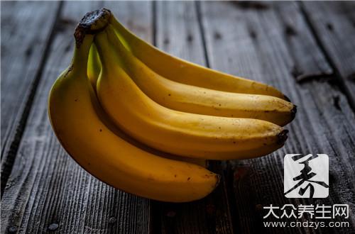 香蕉降火吗