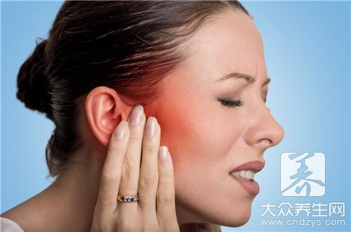 中耳炎耳聋